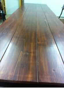 Western Cedar 16ft Table