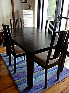 Dining table and 4 chairs Mosman Mosman Area Preview
