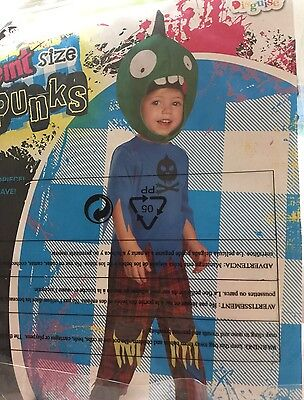 NWT Baby Toddler Zombie Punk Halloween Costume 2T](Toddler Zombie Costumes)