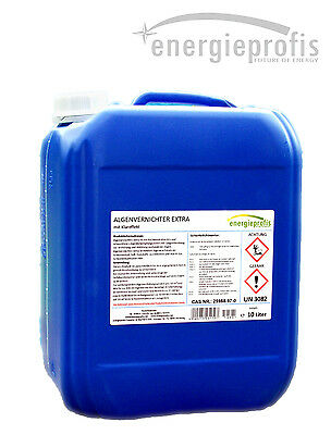 10 L Algenvernichter Algenmittel Algenex  Algizid Pool