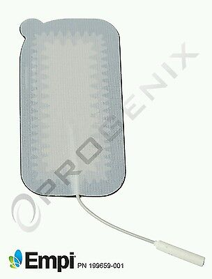 Electrode Pads for TENS Unit NEW 2x4 Large 12 Total FDA Pads Empi Medical