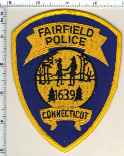 Fairfield Police (Connecticut) Uniform Take-Off Shoulder Patch from 1992
