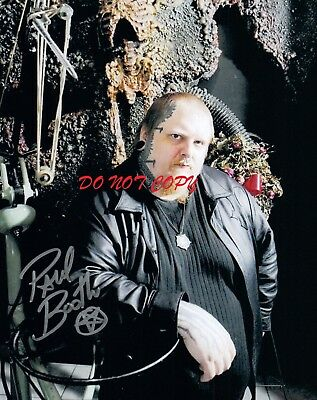 PAUL BOOTH - TATTOO ARTIST AUTOGRAPHED PICTURE SIGNED 8X10 PHOTO REPRINT  - Tattoo Booth