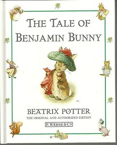 The Tale Of Benjamin Bunny Hardcover Book