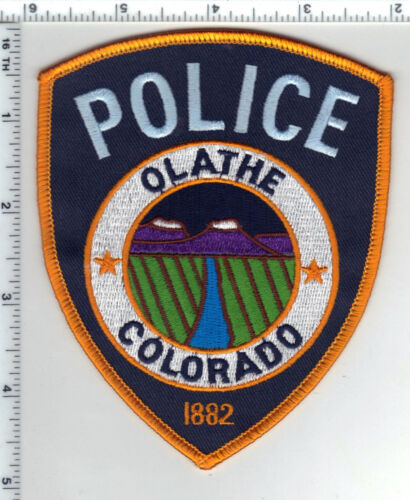 Olathe Police (Colorado) Shoulder Patch from the 1980s