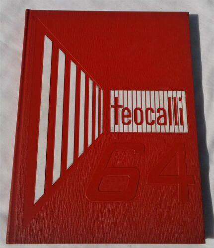 """TEOCALLI"" 1964 MARK KEPPEL H.S ALHAMBRA CALIF. ORIGINAL HIGH SCHOOL YEARBOOK"