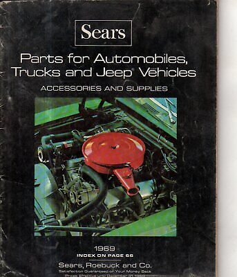1969 Sears Automobile, truck and Jeep parts & accessories Catalog, VW, - Scarce