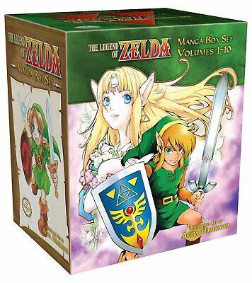 Legend of Zelda Collection 1-10 Books Manga Box Set By Akira Himekawa ()