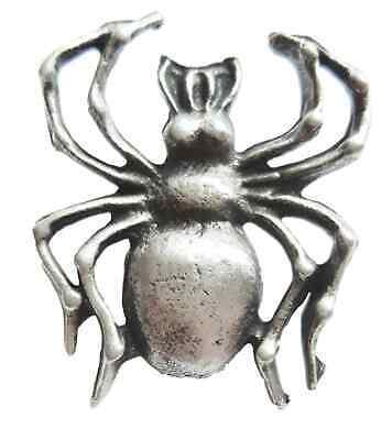 Spinne Handgefertigt Aus Englisch Zinn Revers Anstecknadel