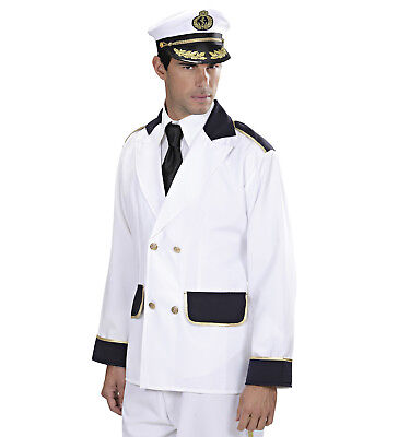 KAPITÄN JACKE JACKET MATROSE KOSTÜM KARNEVAL FASCHING SEEMANN - Seemann Kapitän Kostüm