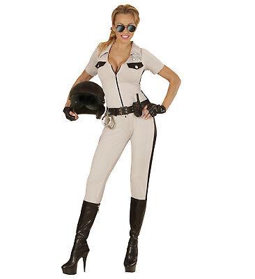 WIM 73981 Fasching Damen Kostüm Califonian Highway Patrol Verkehr Polizei - Verkehr Polizei Kostüm