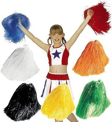 Pompon POM POM Cheerleader Cheerleading 7 Farben (Cheerleading Poms)