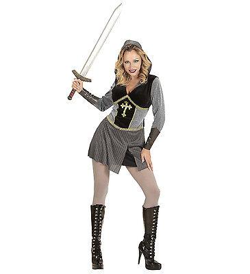 ANT 99089 Fasching Karneval Damen Kostüm Jeanne D'arc Ritterin Heilige France