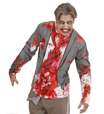 ANT 98707 Herren Kostüm Shirt Zombie Mann Zombiemann Untot blutverschmiert - Untoten Kostüm