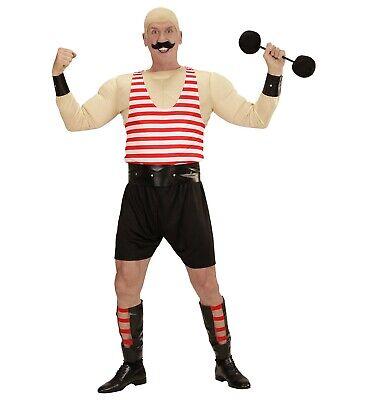 Muskelmann Kostüm Muskelshirt Muskel Mann Gewichtheber Muskelkostüm Verkleidung