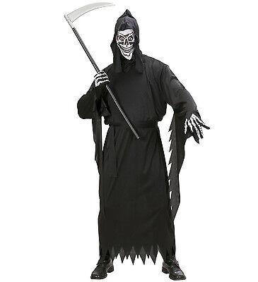 WIM 02671 Fasching Halloween Herren Kostüm Sense Tod Grim Reaper Phantom - Phantom Reaper Kostüm