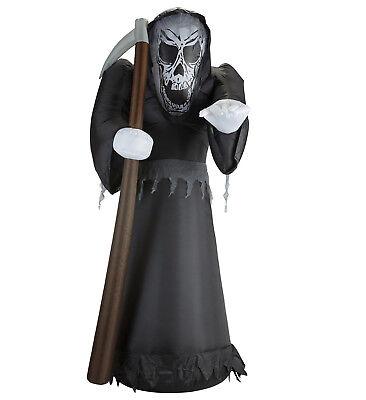 Grim Reaper Morte Gonfiabile E Luminosa 122 Cm - Grim Reaper Requisiten