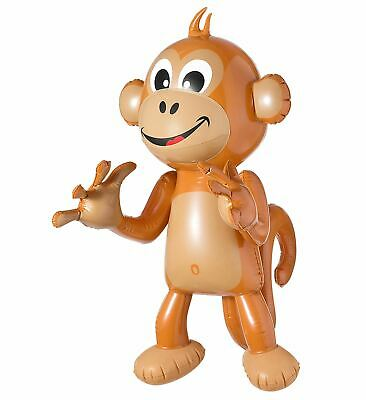 aufblasbarer Affe 50cm inflatable Monkey Sommer Party Tiere Hawaii