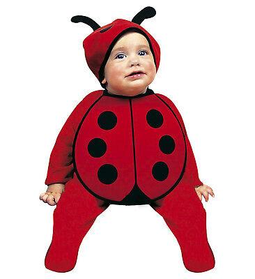 2tlg. Marienkäfer Käferchen Kostüm Kleinkind Baby Kappe, Lätzchen Karneval 80 - Kleine Marienkäfer Baby Kostüm