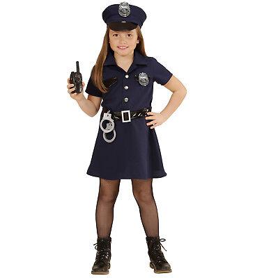 WIM 49085 Kinder Mädchen Kostüm Polizei Polizistin Police Girl Cop Gesetz - Cop Kind Kostüm Mädchen