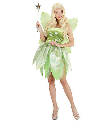Ladies Green Fairy Fancy Dress Costume Fairytale Outfit Uk 10/12 Womens](Green Fairy Outfit)