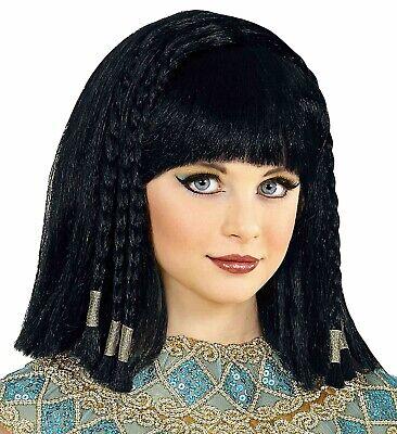 Cleopatra Perücke mit Haarschmuck NEU ()