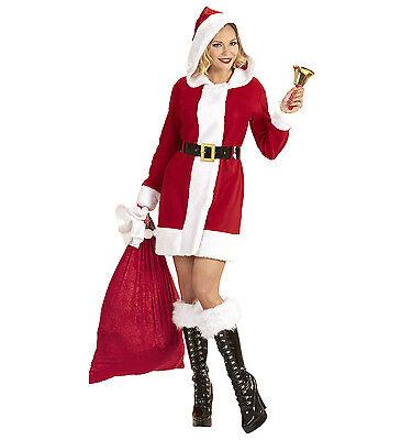 WIM 14935 Nikolas Kostüm Weihnachtsmann Miss Weihnachtsfrau Santa Claus X-Mas