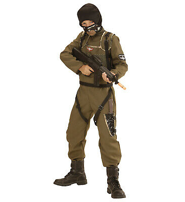 Fallschirmspringer Special Forces Overall Weste Kapuze Fallschirm Springer - Fallschirmspringer Kostüm