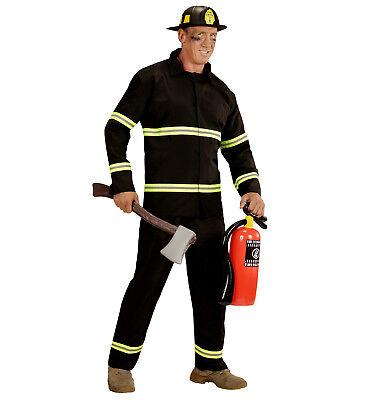 WIM 03941 Feuerwehrmann Feuerwehr Brandbekämpfung Feuer Karneval Herren Kostüm