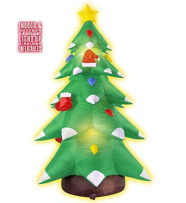 htsbaum 183cm innen und außen Ventilator leuchtend neu (Aufblasbarer Weihnachtsbaum)