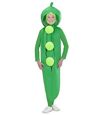 PEA  COSTUME PEA IN  POD KIDS CHILD'S FANCY DRESS VEGGIE BOY GIRL