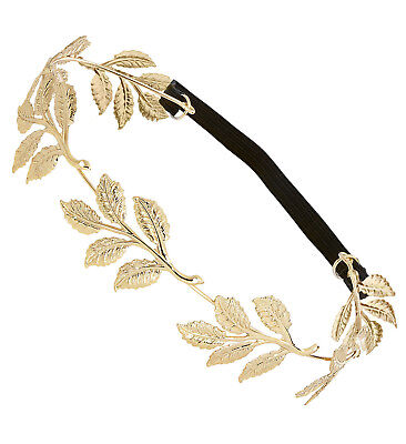 IAL 46735 goldener Lorbeerkranz Krone Römer Cäsar Fasching Kostüm - Caesar Kostüm Zubehör
