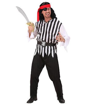 Piraten Kostüm Pirat Karibik Seeräuber Herren S 48  M 50  L 52  (Karibik Piraten Kostüm Herren)