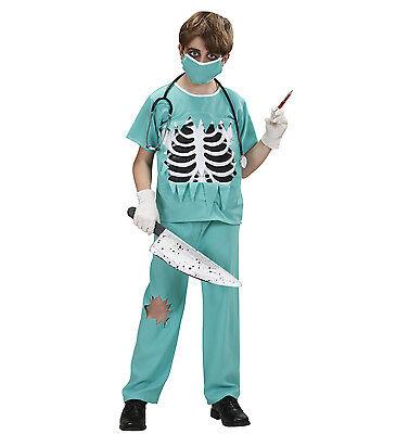 WIM 76656 Kinder Jungen Kostüm Arzt Horror Chirurg Doctor Dr. 128 140 158