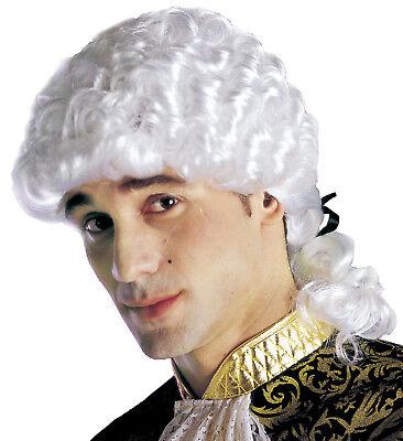 Peluca Marqués Accesorios Carnaval Veneciano Ps 10828
