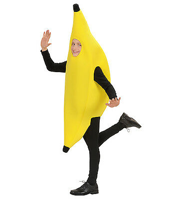 WIM 42476 Banane Bananenanzug Frucht Food Party Karneval Kinder Unisex Kostüm  - Kinder Frucht Kostüm