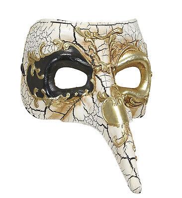 ANT 04725 Venezianische Maske Deluxe Nase Venedig Maskenball Karneval Zubehör  (Venezianische Maske Nase)