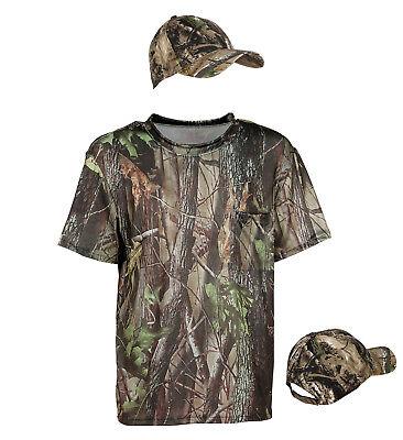 ANT 96553 Jäger Hunter Shirt T-Shirt Jagd Fasching Karneval Herren Kostüm Safari