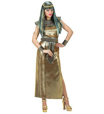 Kleopatra ägyptische Königin Kleid Kostüm Accessoires Karneval Größe M