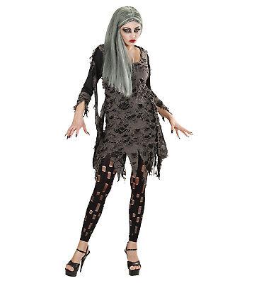 LIVING DEAD FANCY DRESS COSTUME HALLOWEEN ZOMBIE ADULT WOMAN