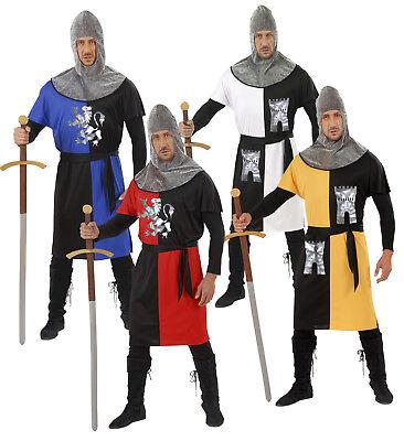 WIM 57261 Ritter Edelritter Krieger Mittelalter Märchen Karneval Herren Kostüm