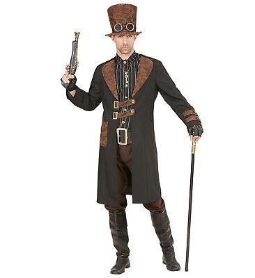 ANT 96731 Fasching Herren Kostüm Steampunk Man Edelmann Viktorianisch Gothic