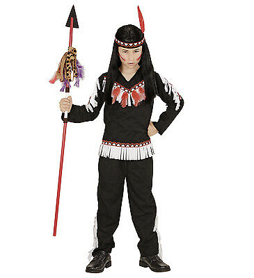 WIM 06714 Indianer Indian Boy Speer Wild West Kinder Fasching Jungen Kostüm