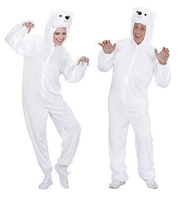 arneval Erwachsene Unisex Kostüm Eisbär Ice Bär Bärenkostüm  (Erwachsene Eis Kostüm)