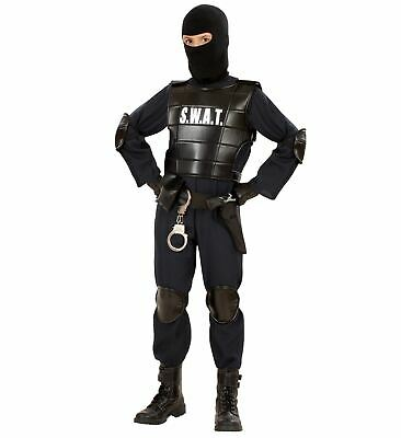 SWAT BOY FANCY DRESS COSTUME POLICE OFFICER SPECIAL FORCES
