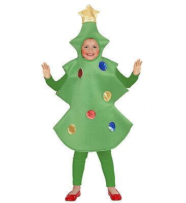 Weihnachtsbaumkostüm Weihnachtsbaum Kostüm Kinderkostüm Bäumchen 110 o. 116 - Weihnachtsbaum Kostüm Kind