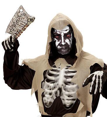 Halloween Gesichter Teufel (Teufel Todes  Maske hauchdünne Stoff Maske, Gesichtsmaske Halloween  Unisex)