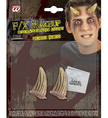 Cornes demon diable halloween professionnel maquillage prothétique accessoire](Accessoire Maquillage Halloween)