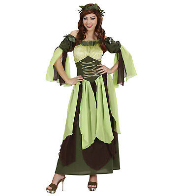 Mutter Natur Kleid Kopfbedeckung Gr. L Kostüm Verkleidung - Mutter Natur Kostüm