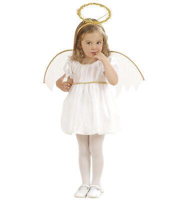 Flügel Heiligenschein Engelskostüm Kleinkind Mädchen 98 104 (Kleinkind-mädchen Engel Kostüm)